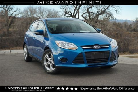 PRE-OWNED 2013 FORD FOCUS SE FWD 4D HATCHBACK
