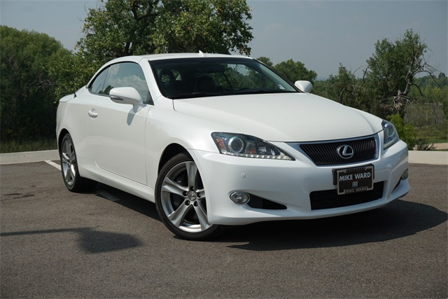 Pre Owned 2014 Lexus Is 350 C 2d Convertible In Highlands Ranch