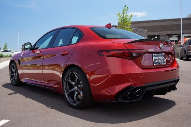 New Alfa Romeo Giulia Quadrifoglio Sedan In Highlands Ranch