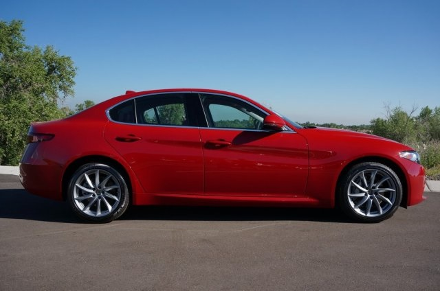 New Alfa Romeo Giulia Ti Sedan In Highlands Ranch